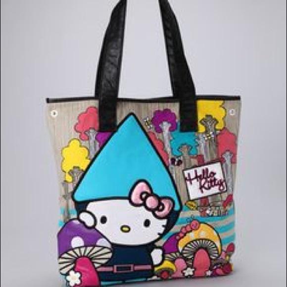 d595505c9 Hello Kitty Bags | Nwt Gnome Tote | Poshmark
